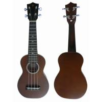 China small Spruce Solid Wood Hawaii Guitar Ukulele 21 inch for childrens AGUL27 wholesale