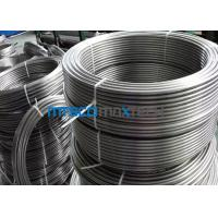 China TP316 / 316L Stainless Steel Coiled Tubing Seamless For Instrument ASTM A213 wholesale