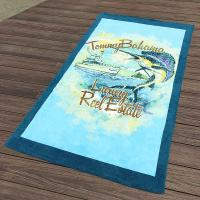 China Custom California Printed Towels Swimmingwear 30x60  10lbs Accessories Promote wholesale