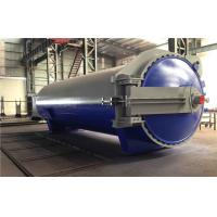 China Rubber Vulcanizing Autoclave with safety valve  and chain lock system wholesale