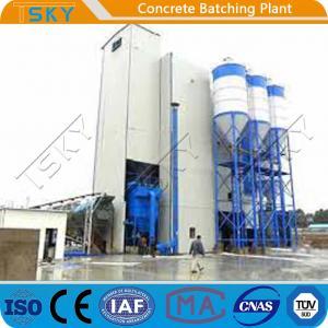 China High Aggregate Storage Silo HLS180 Concrete Batch Plant wholesale