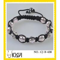 China Low MOQ and Perfect Service Crystal Beaded Bracelets for ladys, women wholesale