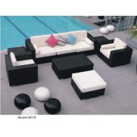China 9pcs patio furniture rattan garden sectional sofa -9018 wholesale