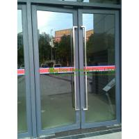 China Commercial Aluminum Window & Door with door closer, automatic closed aluminum entry door on sale
