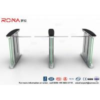 China Access Control Electronic Barrier Gates , Turnstile Flap Barrier With CE Approved wholesale
