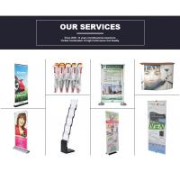 Pop up booth banner stand tension fabric display