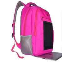 Quality 3.5W Nylon Backpacking Solar Charger , 6V Womens Backpack With Built In Charger for sale