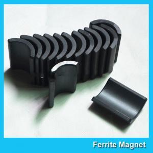 Y30 Grade Ferite Arc Magnets For Motors Ferite Ceramic Motor Arc Magnets