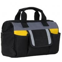 China Heavy Duty Kit Black Electrician Tool Bags / Large Tool Tote Bags Custom Made wholesale