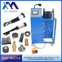 China Auto Machinery Air Suspension Hydraulic Hose Crimping Machine For Air Shock Spring wholesale