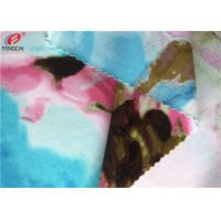 China Warp Knitted 80% Nylon 20% Spandex Printed Stretch Bathing Suit Fabric wholesale