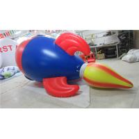China Air Tight Inflatable Model PVC Advertising Inflatable Helium Rocket wholesale