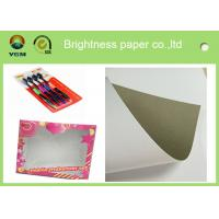 China Packaging / Printing Blister Board Paper 700 * 1000mm Low Surface Roughness wholesale