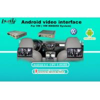 Buy cheap AV Output VW Sharan Android Video Interface Touch Navigation , WIFI / BT Google MAP from wholesalers