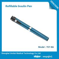 China Sapphire Blue Purple Insulin Pen , Regular Insulin Pen For Humalog Cartridge wholesale
