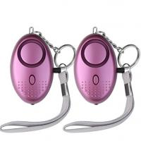 China SOS Emergency Alarm with LED Flashlight Anti-rape Anti-theft Keychain Alarm for Students,Women,Kids,Elderly,Explorer wholesale