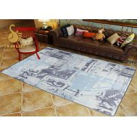 Buy cheap Custom Eco-friendly Printed Indoor Area Rugs For Living Room SGS from wholesalers