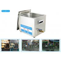 China 200 Watt 10L Ultrasonic Cleaner Electronics For Restoring Electrical Board wholesale