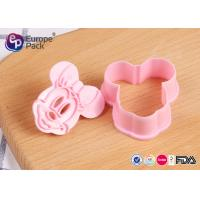 China Pink Children Safety Plastic Kitchenware 12.4G 6 Cm Long 5.5 Cm Width wholesale