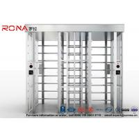 Quality Double Passage Controlled Access Turnstile Rapid Identification For Stadium With for sale