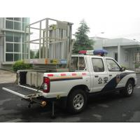 China Truck Mounted Boom Lift , Vertical Double Mast Hydraulic Elevating Platform wholesale