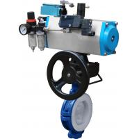 China Aluminum Alloy Ball Valve Actuators , Double Acting Pneumatic Actuator For Butterfly Valves wholesale