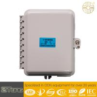 China Durable 6 - 12 Core  FTTH Fiber Access Terminal PC+ ABS Box With 8 SC Adaptors wholesale