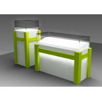 China Commercial Custom Glass Display Cases With Locking Bottom Cabinet wholesale