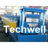 China 2.5mm Thickness Ridge Cap Roll Forming Machine With Manual, Hydraulic Decoiler wholesale