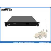 Buy cheap 1.5U Vehicle Mounted HD COFDM Receiver 1080P Wireless AV Receiver Real-time Transmission from wholesalers