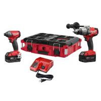 China Milwaukee 2897-22PO FUEL 18Volt Lithium-Ion Cordless Hammer Drill/Impact Driver wholesale