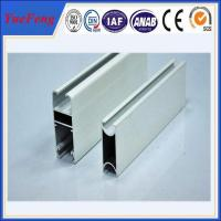China Hot! OEM/ODM aluminum frames door parts with glass panel, aluminum door frame extrustion on sale