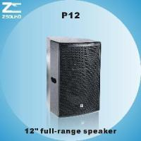 """China P12 12"""" Two Way Professional Speaker wholesale"""