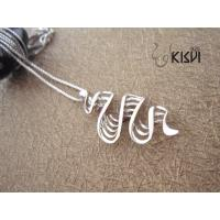 China High quality 925 sterling silver jewelry pendant W-VB897 with plating gold wholesale