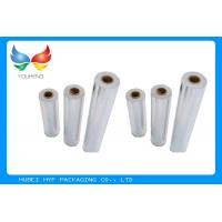 China Wet Strength Vacuum Metallized Paper , High Glossiness Silver Holographic Paper wholesale