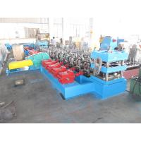 China Macedonia Construction Crash Barrier Expressway Guardrail Cold Forming Machine Gearbox Driven 3 mm Plate Thickness wholesale