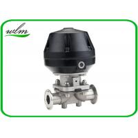 China Professional Hygienic Diaphragm Actuator Valve Mushroom Valves Spring Return / Double Acting wholesale