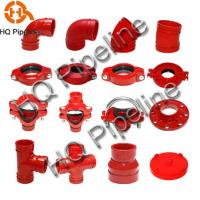 China UL/FM Ductile iron grooved fittings wholesale