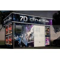 China Mobile Design 7D Cinema System Removable Cabin High Definition wholesale
