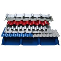 China 0.12-2.0mm Thickness SGCC Galvanized Steel Roof Sheet / Colored Metal Tile Roof Shingles wholesale