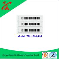 Buy cheap 58khz retail security sensor tag roll anti theft label for cosmetic product