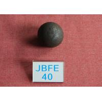 Quality Power Station Forged Grinding Steel Ball B2 D40mm High Surface Heardness 61hrc - for sale