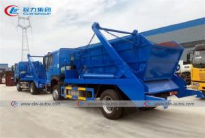China Hydraulic Lift Sinotruk Howo 4x2 10m3 Swing Arm Garbage Truck wholesale