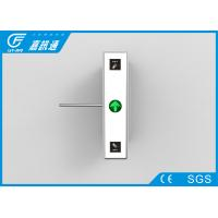 China Security Fingerprint Reader Turnstile Access Control , Pulic Place Turnstile Gate Systems wholesale