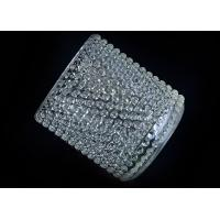 Buy cheap Home Deco Custom Nail Glass Candle Holder / Glass Cylinder Candle Holders from wholesalers