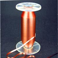 China Natural Color Power Cable Accessories Rolled Copper Foil Wheat Pull Polyester Belt on sale