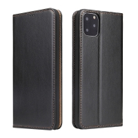 China Universal Iphone11 PU Leather Trifold Leather Flip Cases wholesale