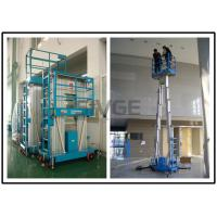 China Two Person Mobile Elevating Work Platform 10 Meter Platform Height For Factories wholesale