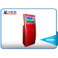 China Multi function touch screen kiosk stand with WIFI / restaurant self service kiosk wholesale