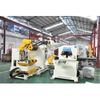 Buy cheap 3 In 1 Nc Servo Coil decoiler straightener feeder Machine With Power Press from wholesalers